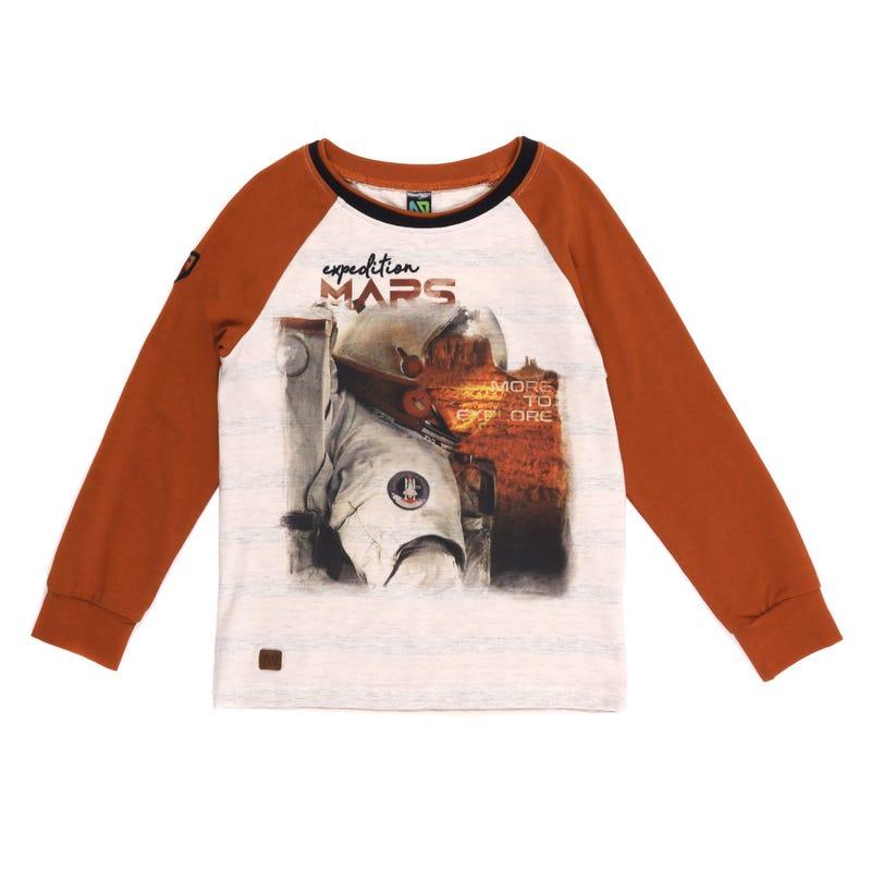 T-Shirt Raglan Mars 2-6ans