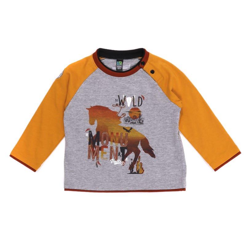 El Rancho Raglan T-Shirt 6-24m