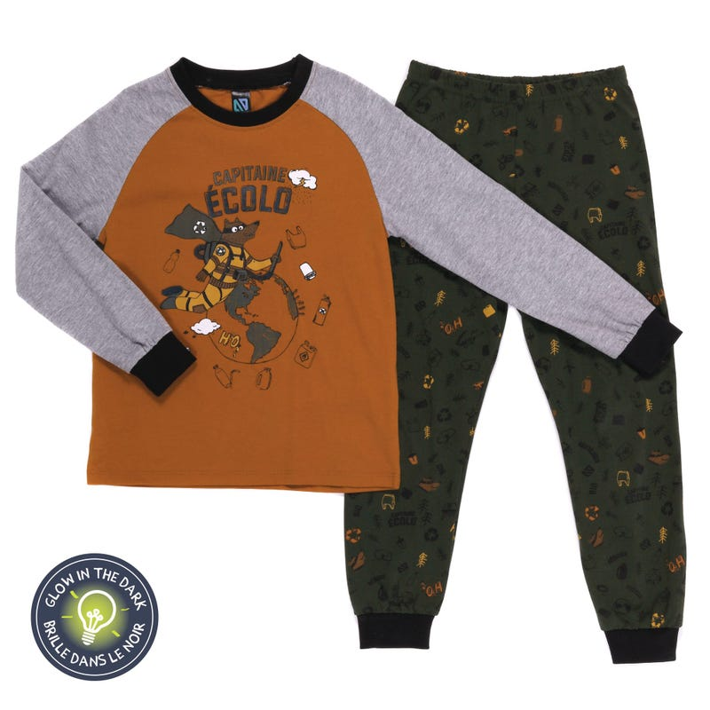 Pyjama Capitaine Écolo 7-12ans