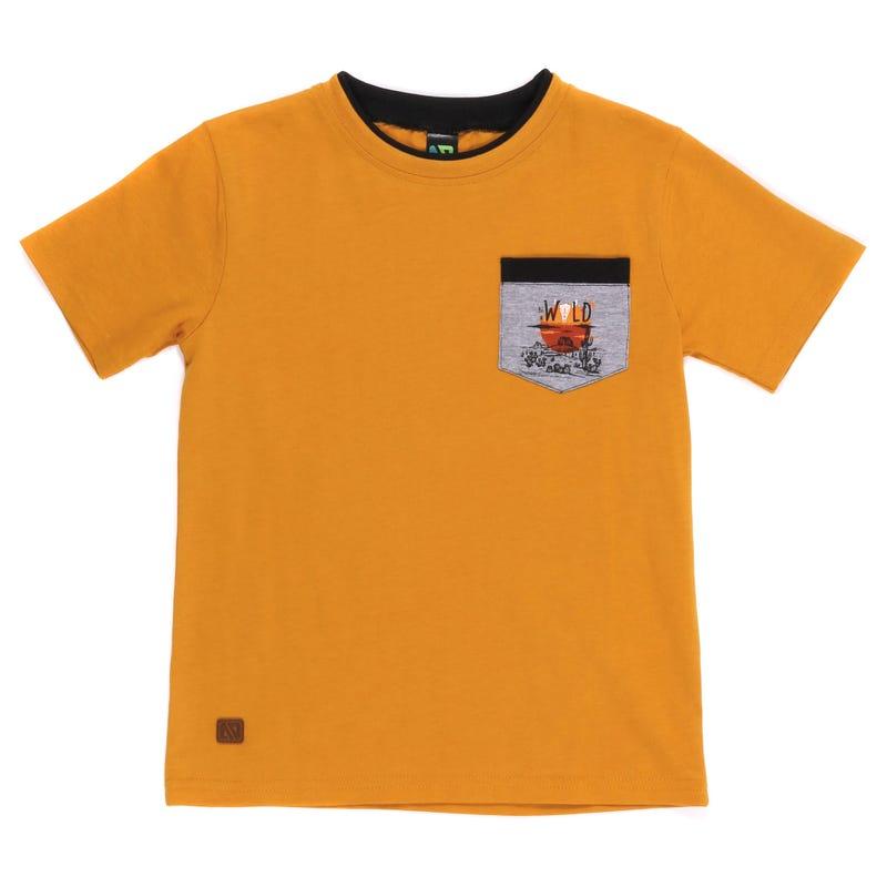 T-Shirt Poche Ouest 7-10ans