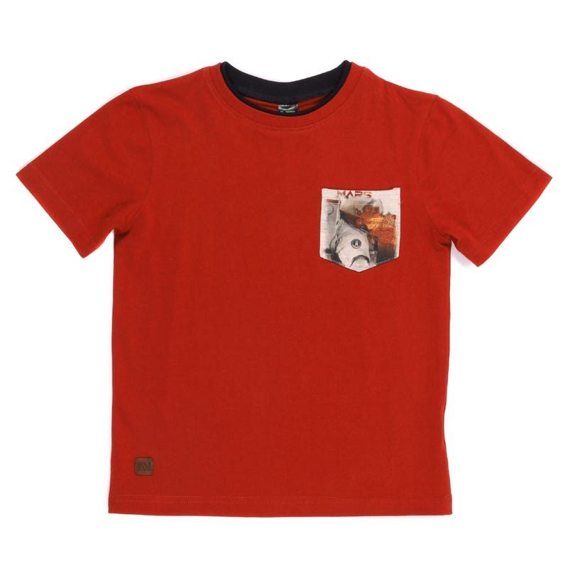 T-Shirt Poche Mars 7-10ans