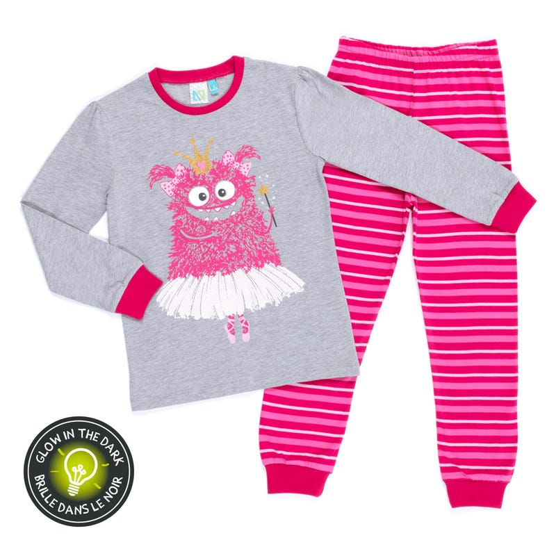 Monster Pajamas 2-6y