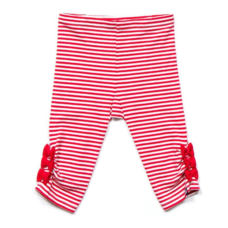 Holiday Stripe Legging 3-24m