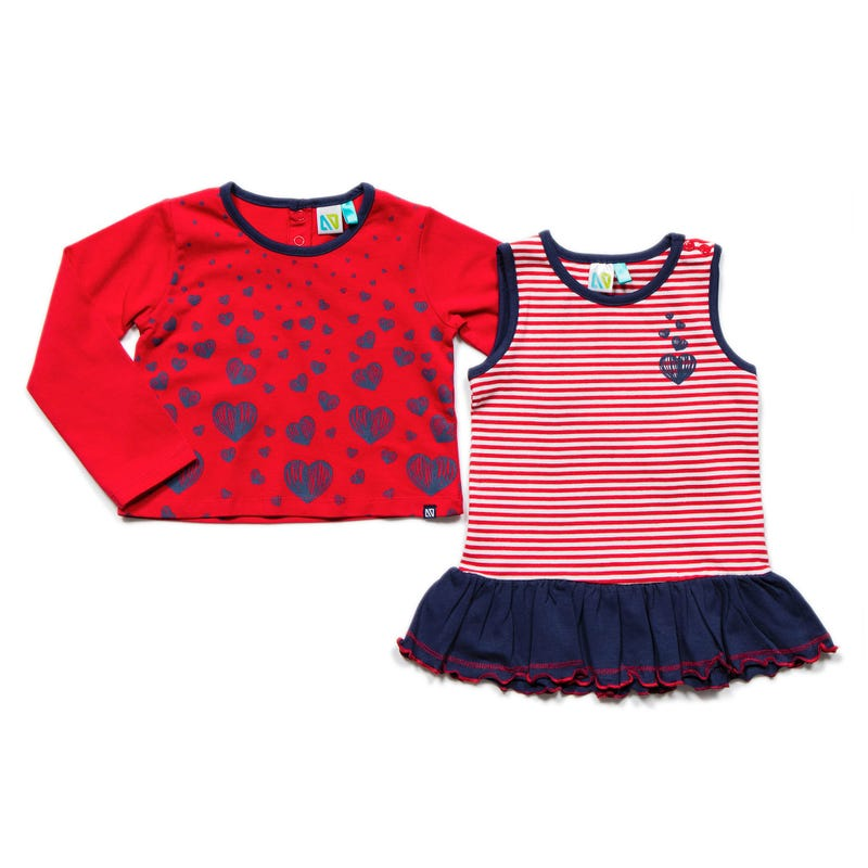Holiday Long Sleeve 2 Pieces T-Shirt 3-24m