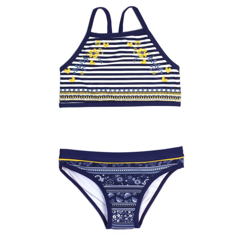 DAISY STRIPED BIKINI 2-6