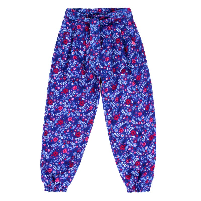 Whatercolor Flowers Pants 2-6y