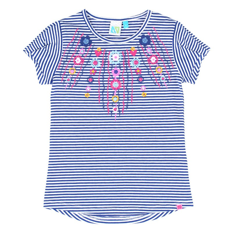 T-Shirt Rayé Aquarelle 2-6ans