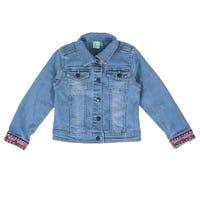 Watercolor Jeans Jacket 2-6y
