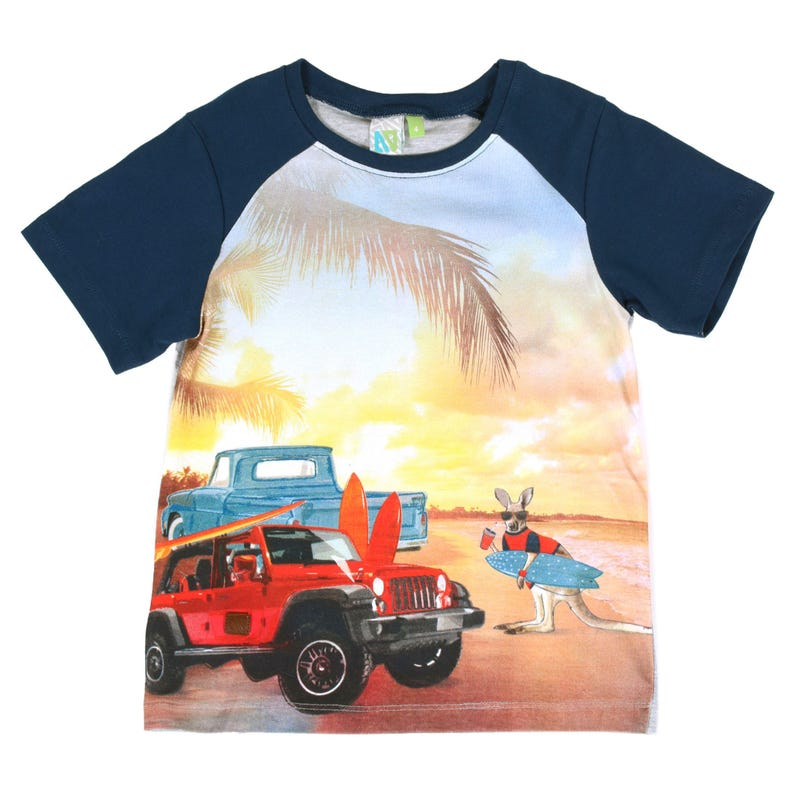 Surf Fanatic Beach T-Shirt 7-12y
