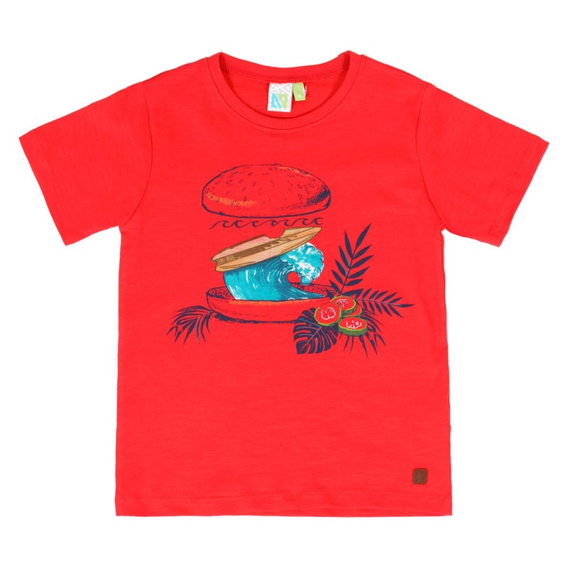 Surf Fanatic Wave T-Shirt 2-6y
