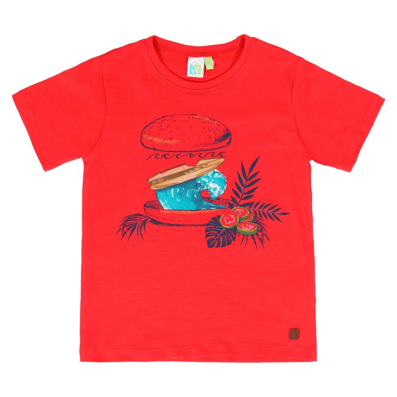 Surf Fanatic Wave T-Shirt 7-12y