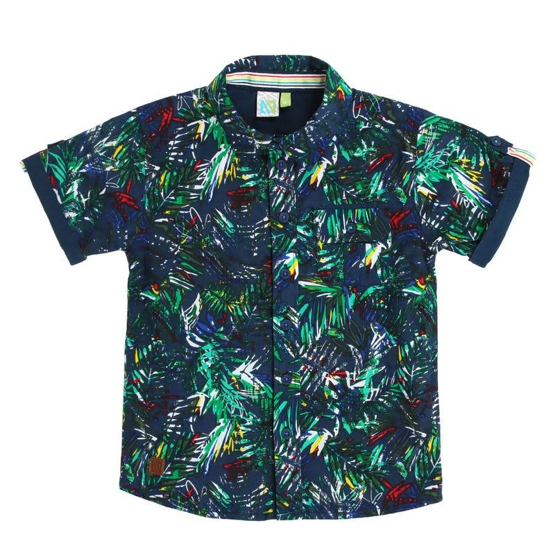 Safari Leaves Shirt 7-12y