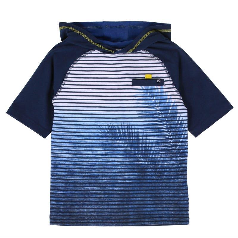 Safari Hooded T-Shirt 7-12y