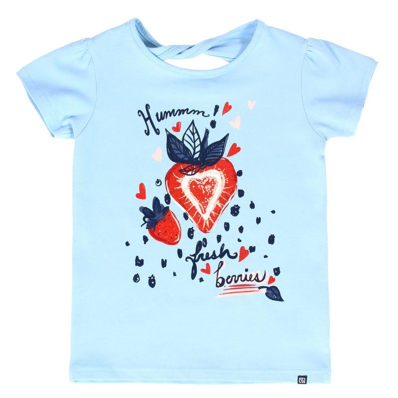 Fresh Garden Strwberries T-Shirt 7-12y