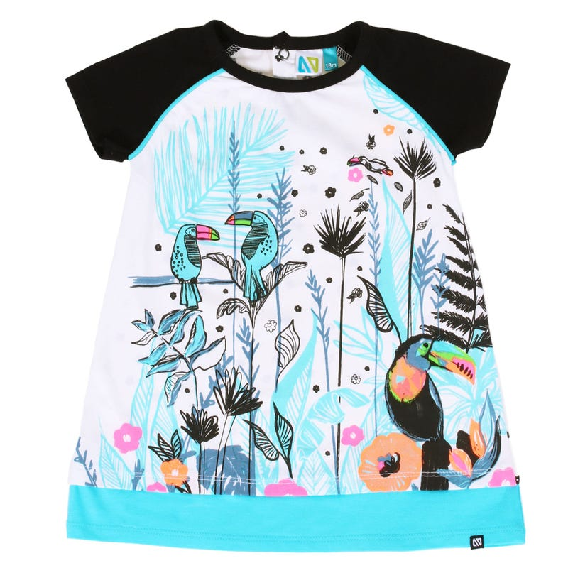 Tropical Days Toucan Tunic 3-24m
