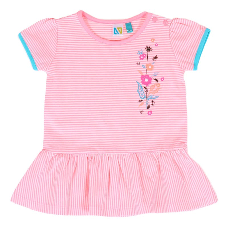 Tropical Days Striped Tunic 3-24m