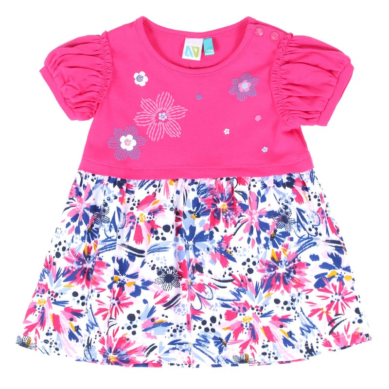Magic Flowers Tunic 3-24m