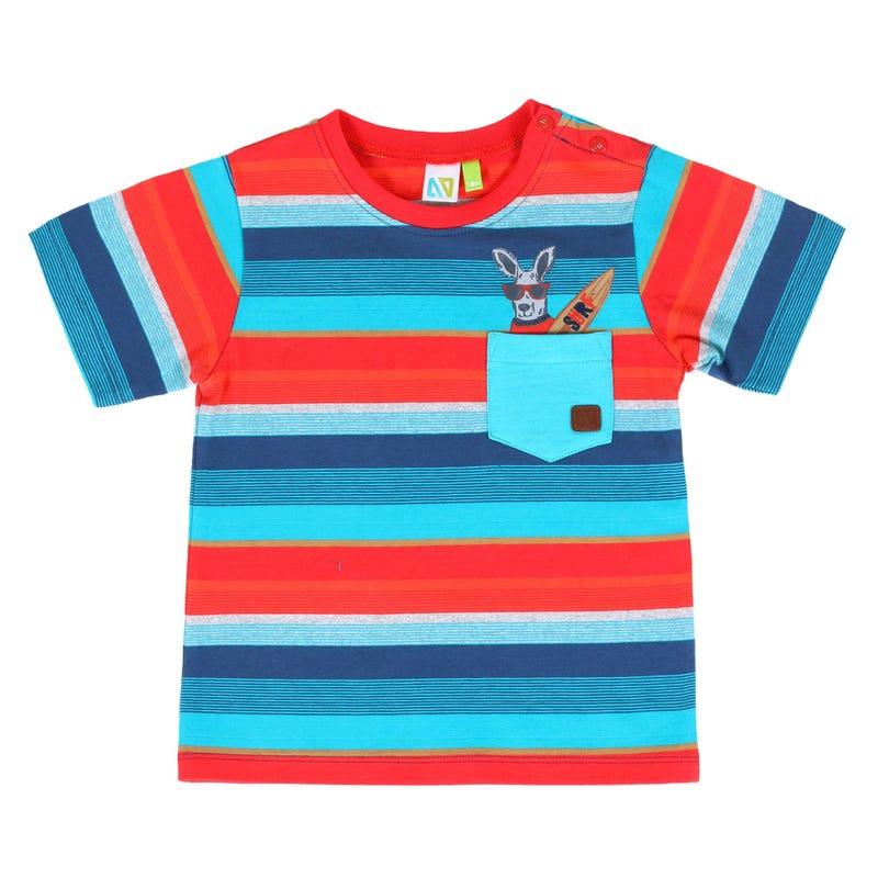 T-Shirt Rayé Surf 3-24mois