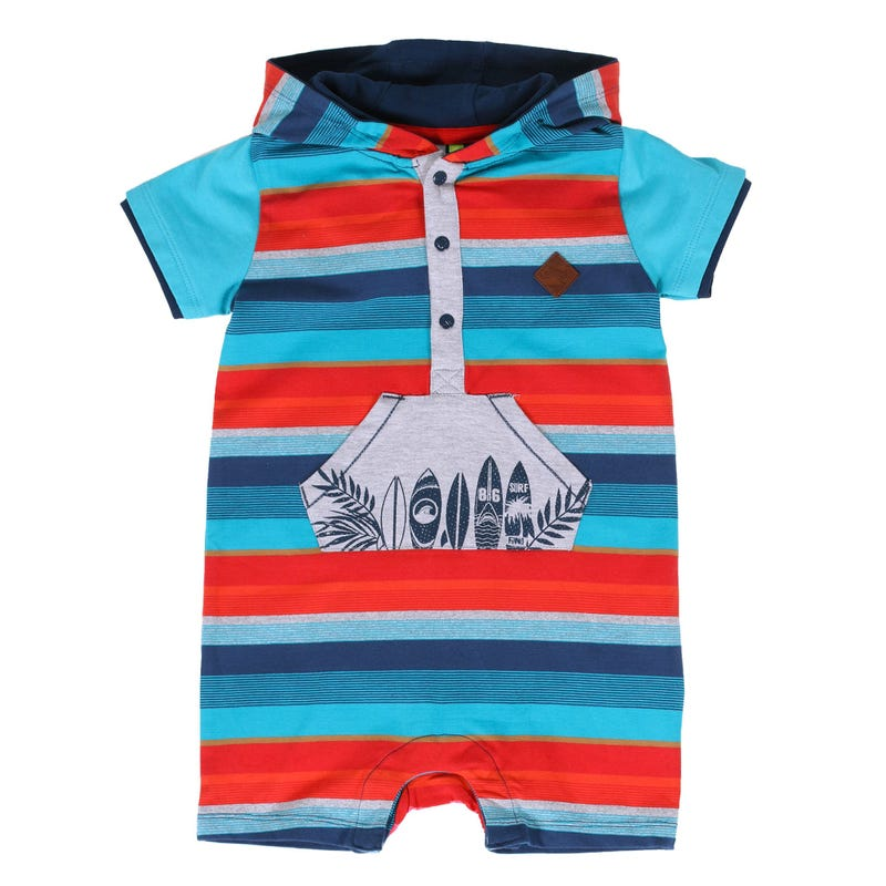 Barboteuse Rayee Surf 3-24m