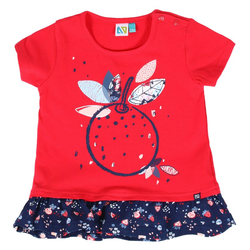 Garden Party Fruit T-Shirt 3-24m