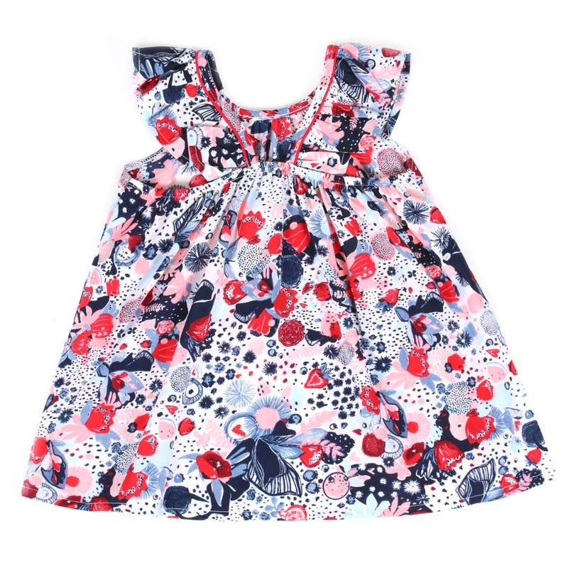 Garden Party Fruits Tunic 3-24m
