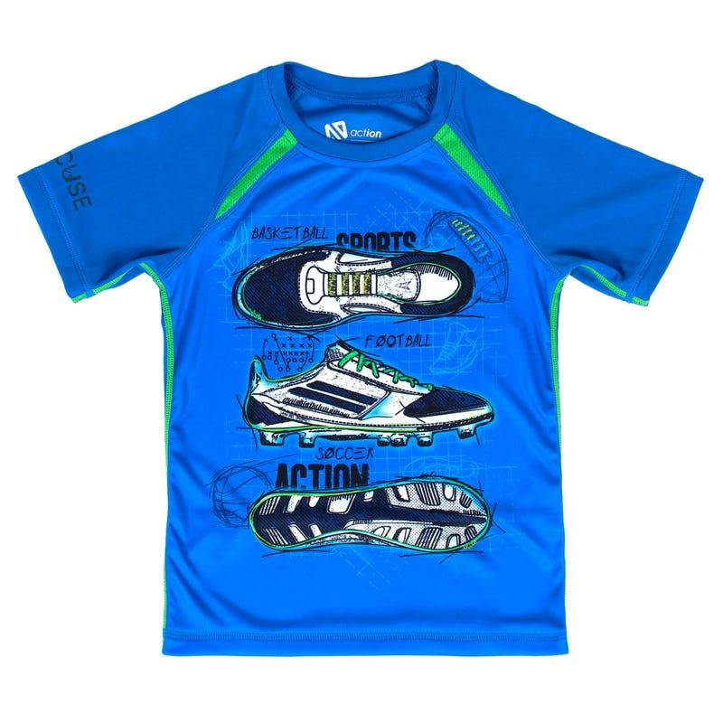 T-Shirt Action Techno Sport 7-12ans