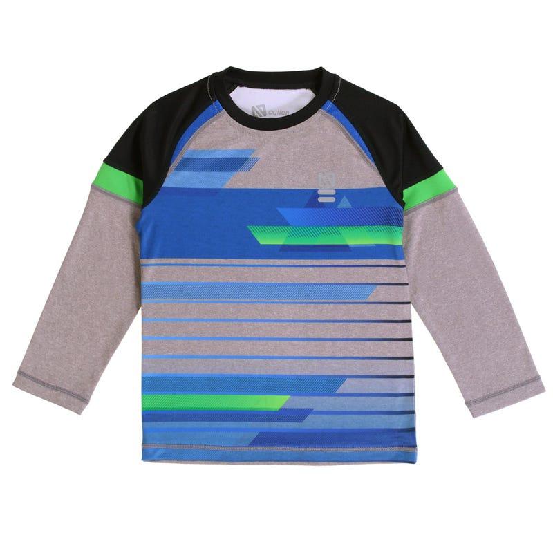 T-Shirt à Manches Longues Techno Sport 7-12ans