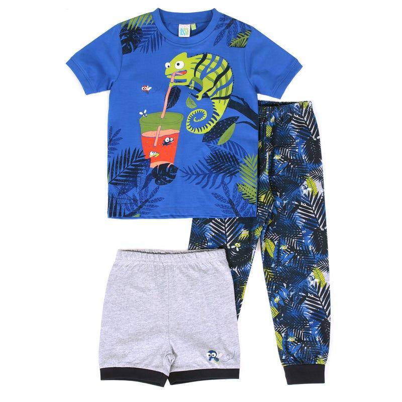 Pyjama 3 Pièces Lézard 7-12ans