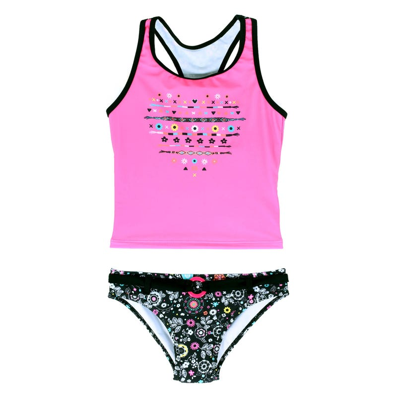 Little Flowers Tankini 2-6y