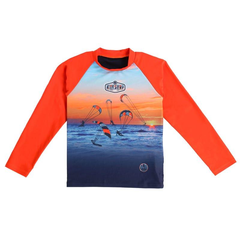 T-Shirt Maillot à Manches Longues Mer 2-6ans