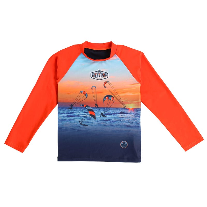 Sea Long Sleeve Rashguard T-Shirt 7-10y
