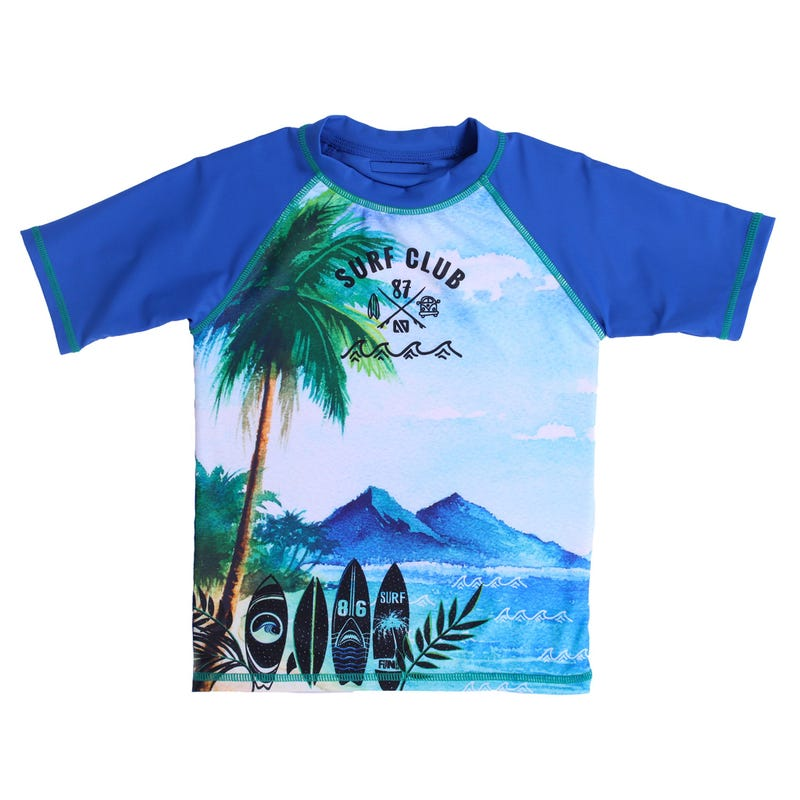 T-Shirt Maillot Plage 7-10ans