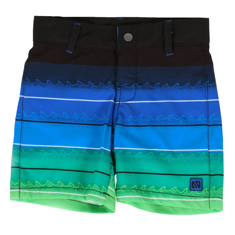 Maillot Short Rayé Plage 7-12ans