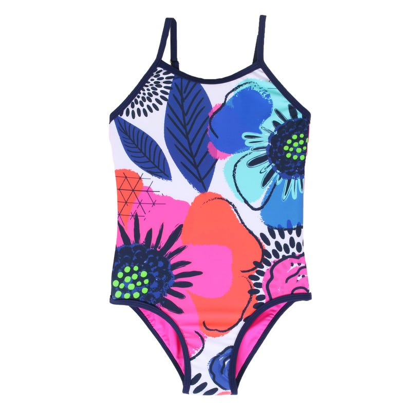 Flower UV Swimsuit 2-6y