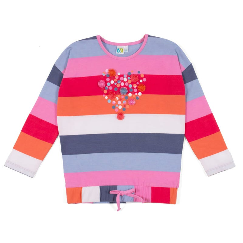 Sorbet Striped T-Shirt 2-6x