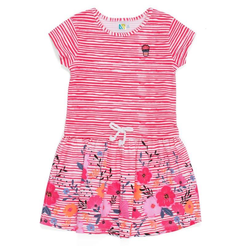 Sorbet Striped Dress 7-12