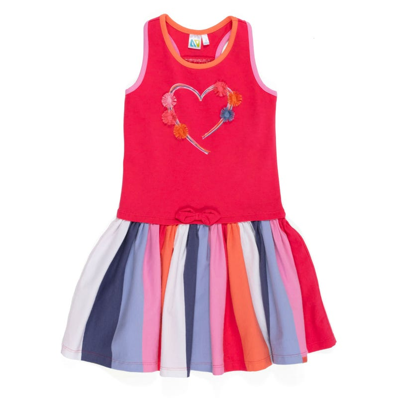 Sorbet Heart Dress 2-6x