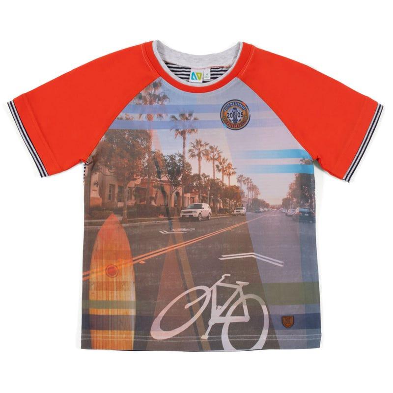 Green Club Bike T-Shirt 7-12