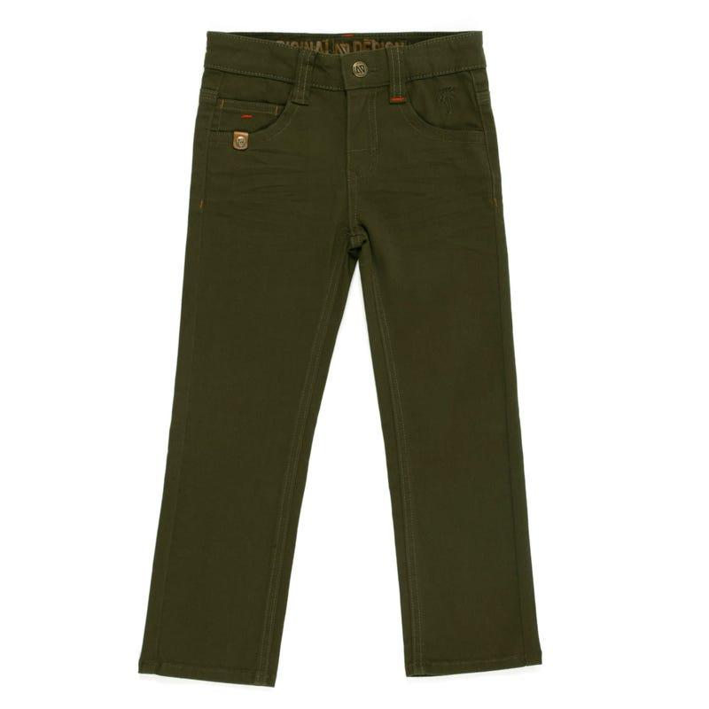 Green Club Jogger Pants 2-6x