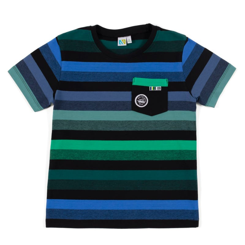 California Striped T-Shirt7-12