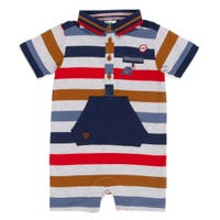 Barboteuse rayée Joue 3-24m