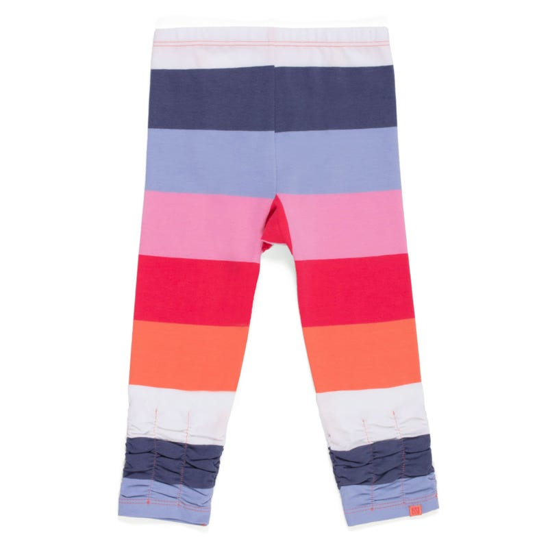 Daisy Striped leggings 3-24m