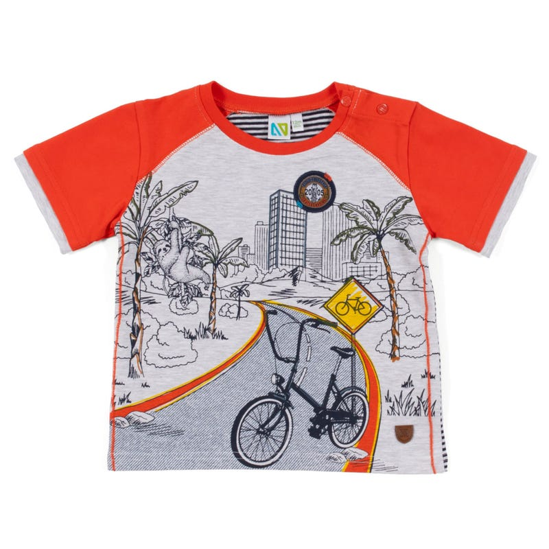Green Team Bike T-Shirt 3-24m