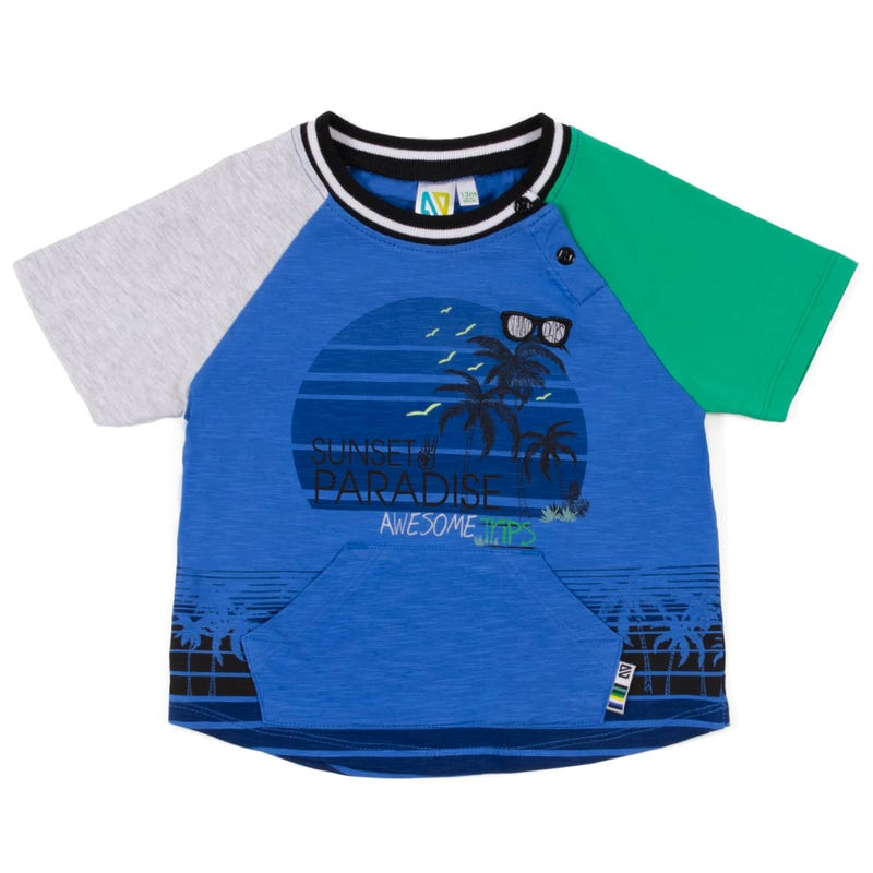 T-Shirt Raglan Surf 3-24m