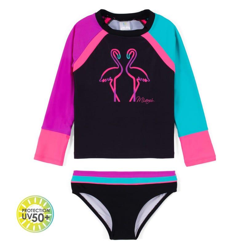 Miami 2pcs Swimsuit UV 2-6y