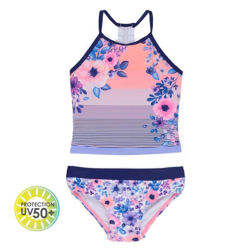 Maillot UV Tankini Daisy 7-14ans