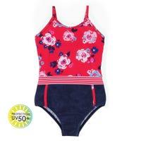 Peonies UV Swimsuit 7-14