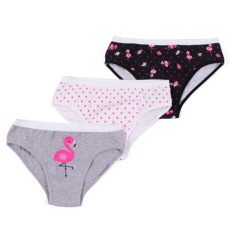Nano Flamingo 3pcs set panties