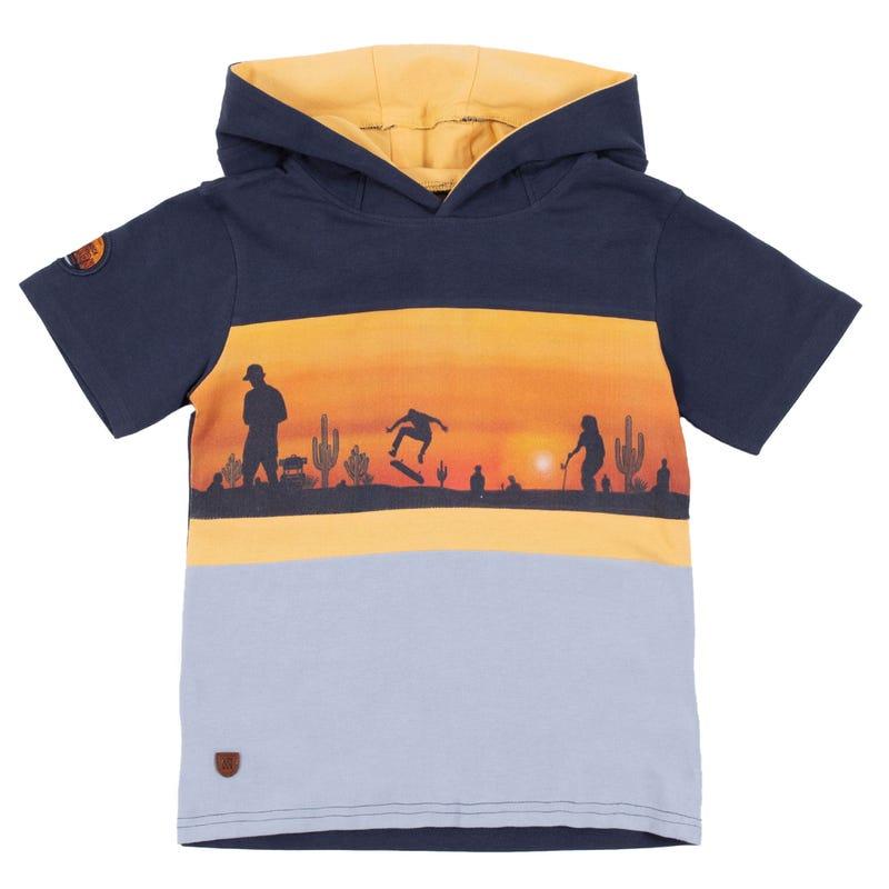 T-Shirt Capuchon Nevada 2-6ans
