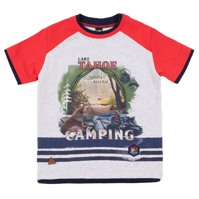 T-Shirt Raglan Prise 7-12ans